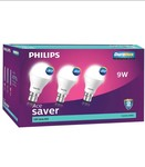 Philips, Syska, Eveready etc Led bulbs minimum 60% Discount plus buy 2@10% and buy3@15% extra on many articles