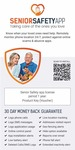 Senior Safety App, GPS Tracker, Fall Alerts & More 1 Device, 1 Year (License Key Card)