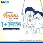 Paytm - 50% cashback upto 150 on movie tickets