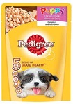 Pedigree Gravy Puppy Dog Food Chicken & Rice, 80 g Pouch