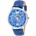 Eddy Hager Blue Day and Date Men's Watch EH-133-BL