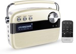 Saregama Carvaan 6 W Bluetooth Home Audio Speaker  (Porcelain White, Stereo Channel) + HDFC Offer
