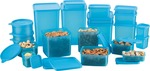 MasterCook  -  Polypropylene Grocery Containers combo (Pack of 21 ) at 299 + Flipkart Assured