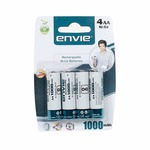 ( Loot ) Envie AA 1000 4PL Ni-CD Rechargeable Battery (White) II  Apply 5 % off coupon II Fast Loot