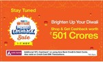 Paytm Maha cashback sale 1-7 nov (10% Extra with Axis Bank Cards)
