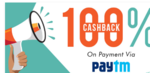 100% cashback upto 1500 on using paytm at coolwinks (Valid from 29-31st Oct)