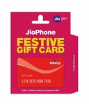 jio phone gift card Jio phone +6months plan off 99 with 90GB data with unlimited calls and jio apps subscription +501 refundable deposit @1095