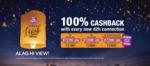 Videocon Alag Hi Diwali Offer :- Get 100% Cashback upto 2600₹ on Every New D2H Connection