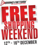 Rs.100 Discount on Brand Factory Free Shopping Weekend Sale Entry Passes buying via Insider.in