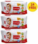 Luvlap Paraben Free Baby Wet Wipes With Aloe Vera 3