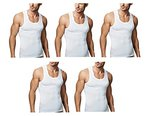 Rupa Men's Cotton Sleeveless Vest - Pack of 5- Rs  328  [ 58 %  off   ] @  amazon