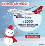 Easemytrip :- Fly to the UK & USA with Virgin Atlantic and Enjoy Rs.2000 Instant Discount