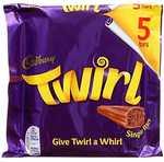 Cadbury Twirl 5 Pack 107.5g
