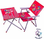 MetroBuzz A-1 Kids Study and Dinning Table Chair Set for 2 to 6 Years Old Kids @699