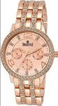 SWISSTYLE Analogue Rose Gold Dial Women's Watch