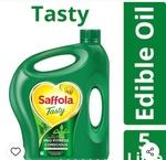 Saffola Tasty Edible Oil - 5 ltr Jar MRP ₹580 @380 using Dainik Bhaskar coupon