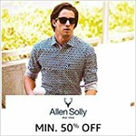 Allen Solly Men Clothing 50% off