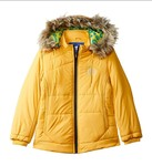 FORT COLLINS Kids Quilted Regular Fit Jacket (58161-FC_Yellow_30/10-11 years)