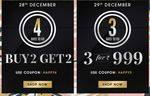 NNNOW CountDown to New Year Sale (28-31 December)