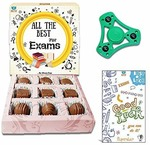 (Hot) Bogatchi All The Best for Exam Chocolates, 90g and Free Hand Spinner with Free Exam Greeting Card, 90g