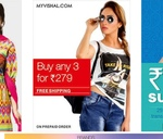 LOOT Buy Any 3 Apparels @279 + Payment Offers with Free Shipping