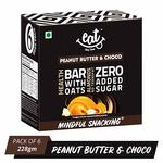 44% off on EAT Anytime Chocolate Peanut Butter & Choco Bars - 228g (38g X 6 Bars) Save with subscribe and save offer + apply 10% off coupon