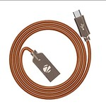 Amazon – Buy Zebronics UMC120ZBR USB Cable (Brown) at Rs.129 only