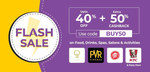 Little App Flash Sale - Upto 40% Off + Extra 50% Cashback upto ₹100 on Food, Drinks, Spas, Salons & Activities
