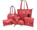 Nice Mobi Set Of 7 Shoulder Bag Handbag Slingbag Clutch Pouch For Women