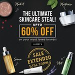 Purplle : THE Ultimate Skin Care Steal upto 60% off(Aroma Magic,Everyuth, Pamolive ,Vlcc,Veet,Nivea etc)