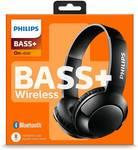 Philips SHB3075BK Wireless Headphones (Red)