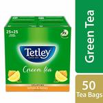 34% off on Tetley Green Tea Bags, Lemon and Honey (50 Tea Bags) save more with Subscribe & Save