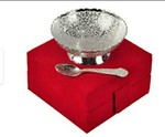 German Silver Bowl And Spoon Set of 2 @169