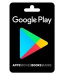 Google play gift card in good discount
