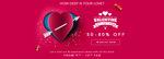 Jabong The Lovestruck Valentine (9-12 Feb) :  Buy 1 Get 4 Free, Buy 3 at 999