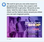 Get Rs 100 Magicpin Balance On All Fashion Store(User Specific)