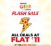 Dineout GIRF Flash Sale On 22nd Feb - All Deals @ 11rs (22nd Feb 12PM - 3PM Only)