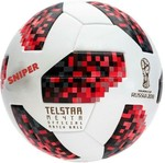 Sniper RUSSIA FIFA World cup 2018 Football - Size: 5(Pack of 1, Red)