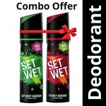 [ Pantry ] Set Wet Perfume, 120ml (Spunky and Funky Avatar, Pack of 2)- Rs  176  [ 60 %  off   ] @  amazon