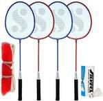 Silver's MN-Combo-9 Badminton Kit- Rs  410  [ 68 %  off   ] @  flipkart