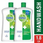 [PRICE ERROR] Dettol Original Liquid Soap Jar - 900 ml (Pack of 2)