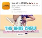 Jabong Show crew sale min 40 - 70% off on roadster, woodland, redtap, carlton, steve madon, crocs, catwalk, dressberry, trufle, clarks, vans, superdry, elle, hush puppies