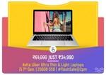 LIVE | FLASH SALE: Avita Liber i5 7th Gen 8 GB RAM 256GB SSD Ultra Thin & Light Laptops | 2pm 7-8 March