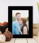 Black Synthetic Wood Table Photo Frame By Art Street 68%OFF