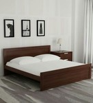 Dazzle King Bed in Walnut Finish by HomeTown