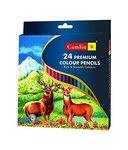 Camlin Kokuyo Premium Full Size Colour Pencil - 24 Shades