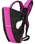 [Lowest ; check pc's] LuvLap Sunshine Baby Carrier (Black/Pink)