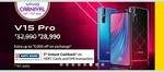 Vivo Carnival Days 13-15 MarchVivo V15 Pro Of 32990 At Rs 28990 + 3000 Extra Off On Exchange + 5% Discount On HDFC Card