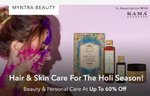 Myntra Holi Season : Beauty and Personal Care Upto 60% OFF