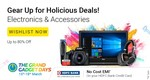 Flipkart Grand Gadget Days (15th - 18th March) : Upto 80% Off + No Cost EMI with HDFC Bank Credit Card